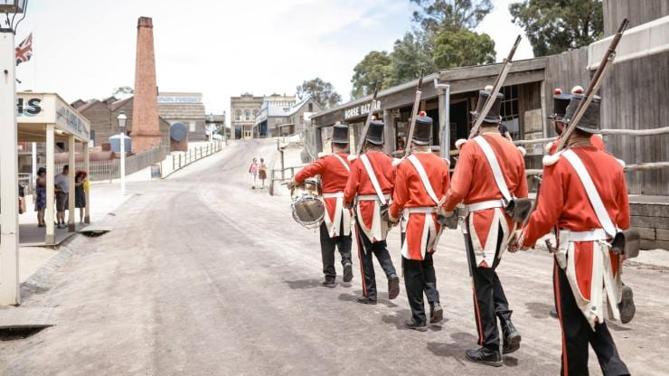 Sovereign Hill, Ballarat, Victoria © Sovereign Hill