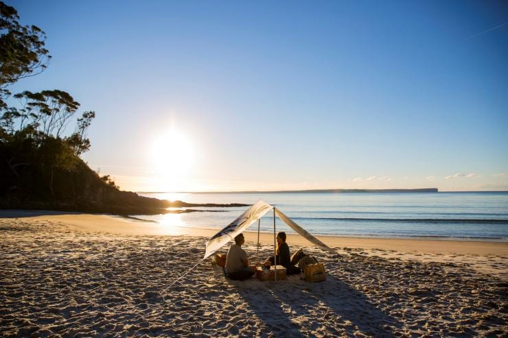 Blenheim Beach, Jervis Bay, New South Wales © Destination NSW