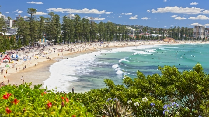 Manly Beach, Sydney, New South Wales © Keith McInnes, Destination NSW