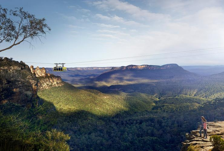 Scenic Cableway, Katoomba, Blue Mountains, New South Wales © Destination NSW
