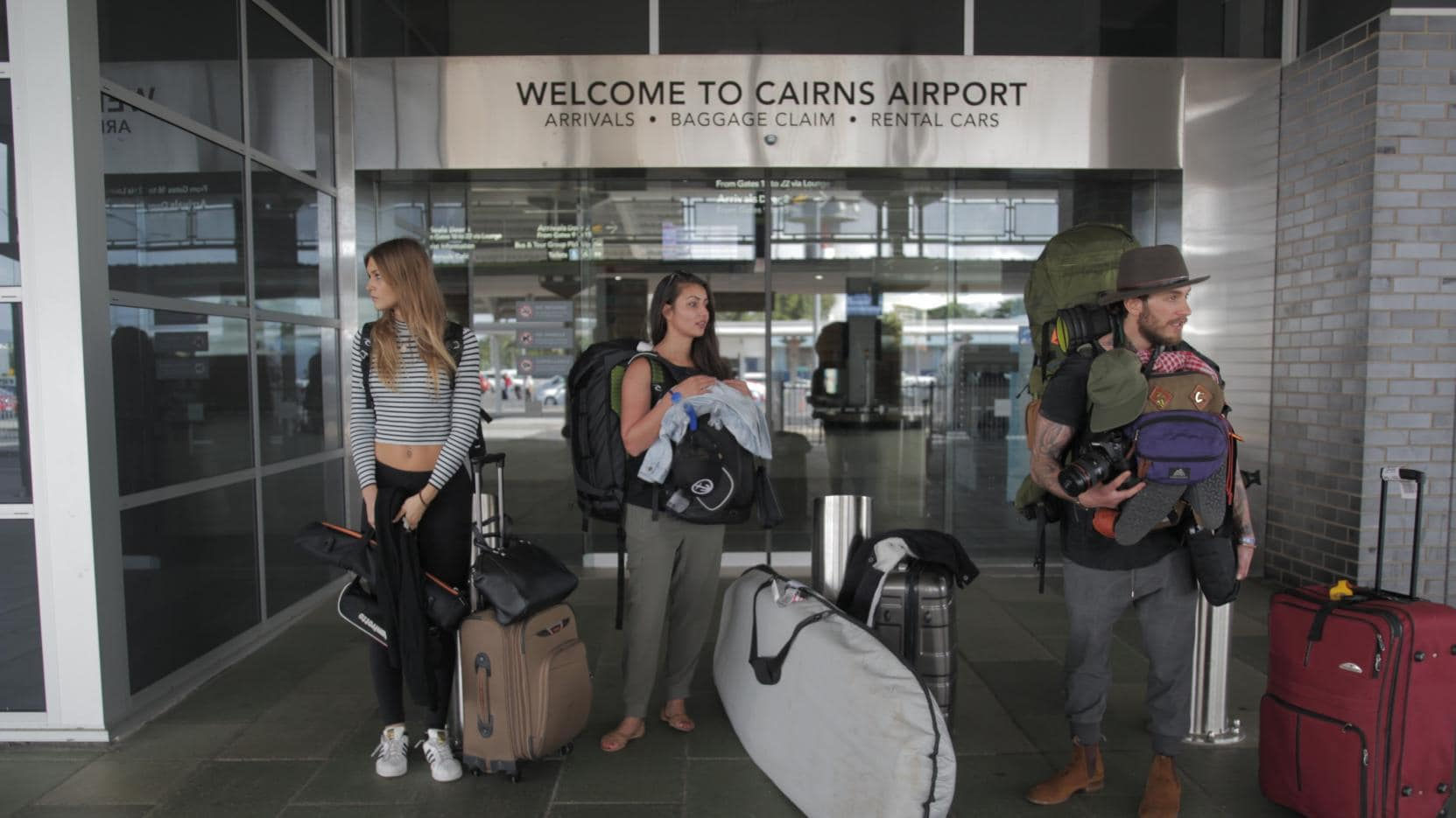 Cairns Airport, Cairns, Queensland © Hostels Australia