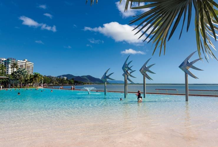Cairns Esplanade Swimming Lagoon, Cairns, Queensland © Tourism and Events Queensland