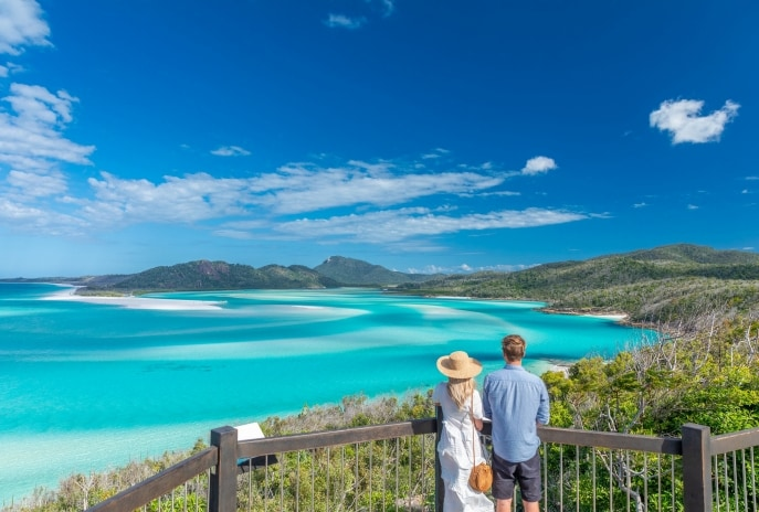 Hill Inlet, Whitehaven Beach, Whitsundays, Queensland © Riptide Creative