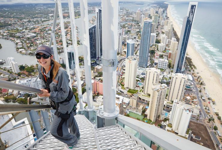 SkyPoint Climb, Gold Coast, Queensland © Tourism Australia
