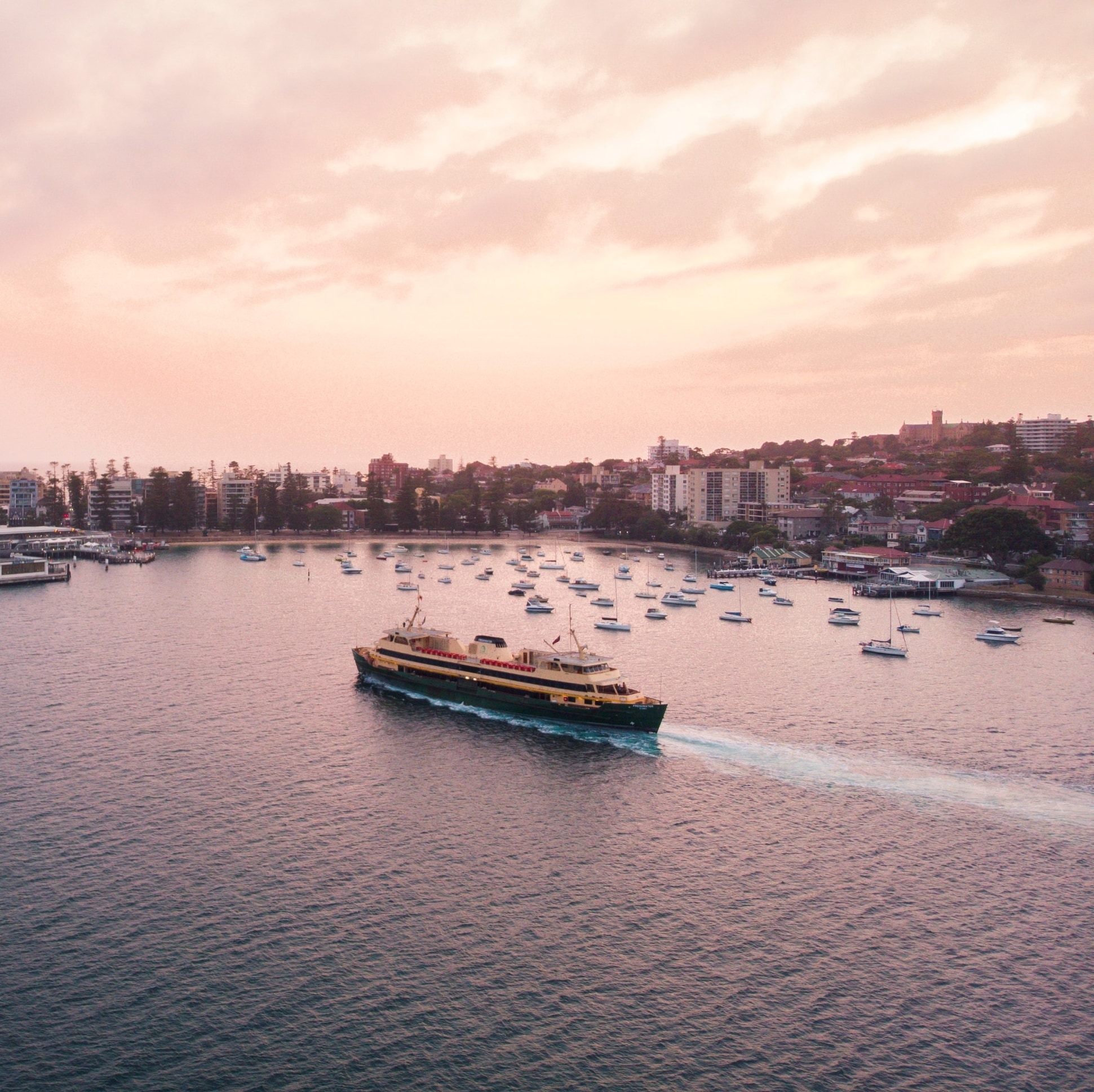 Manly Ferry, Manly, New South Wales © Destination NSW