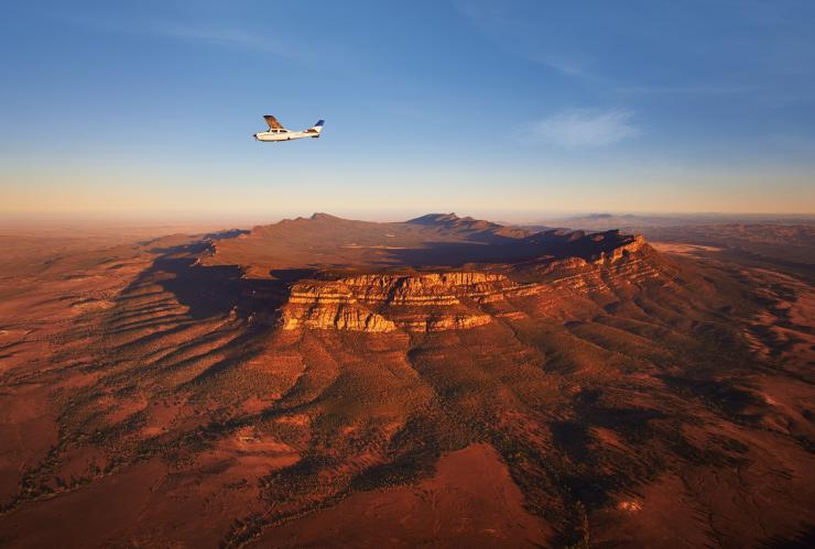 Bush Pilots Scenic Flight, Wilpena Pound, Flinders Ranges National Park, SA © SATC
