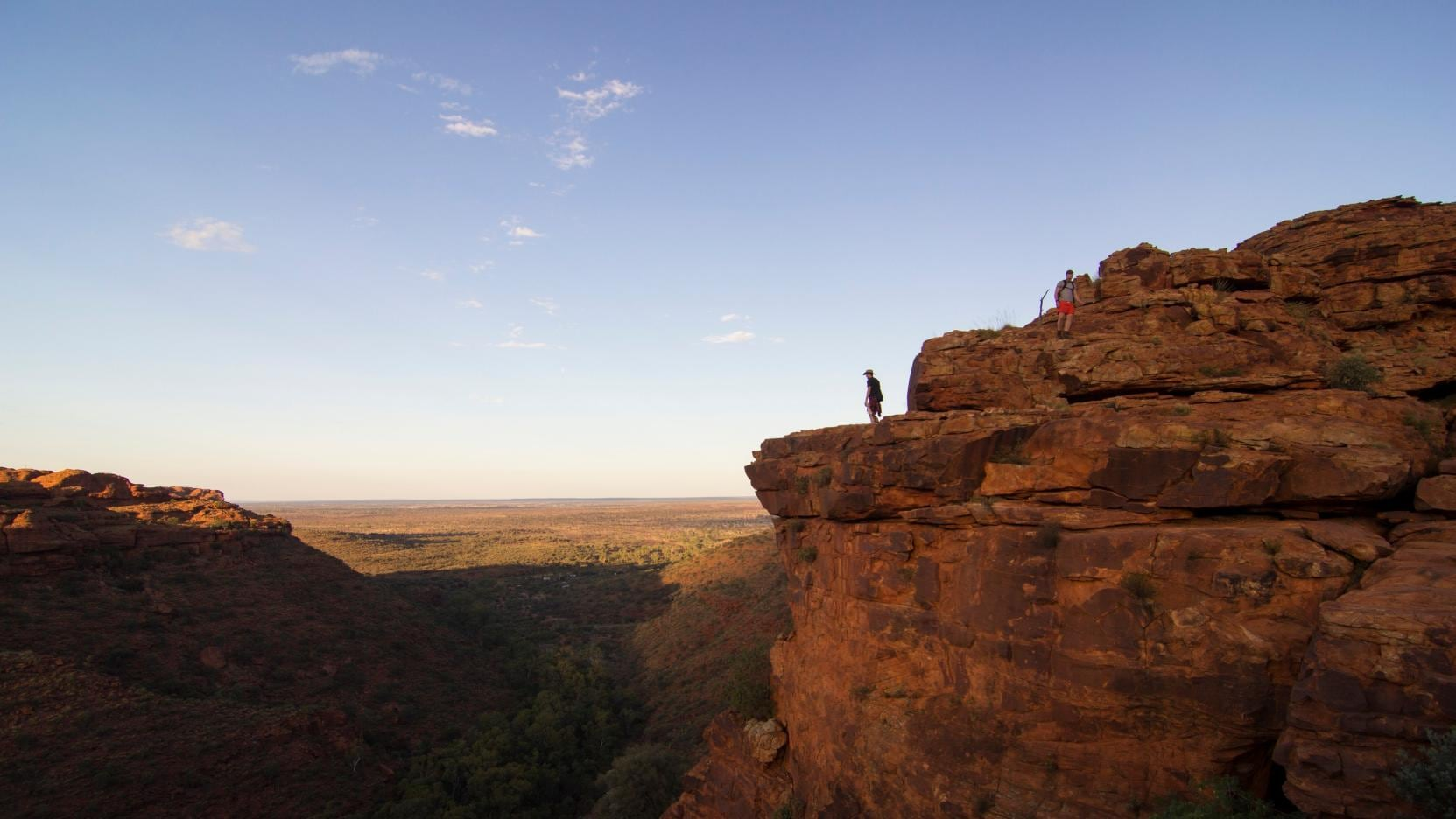 Rim Walk, Kings Canyon, NT. © Shaana McNaught, Tourism NT