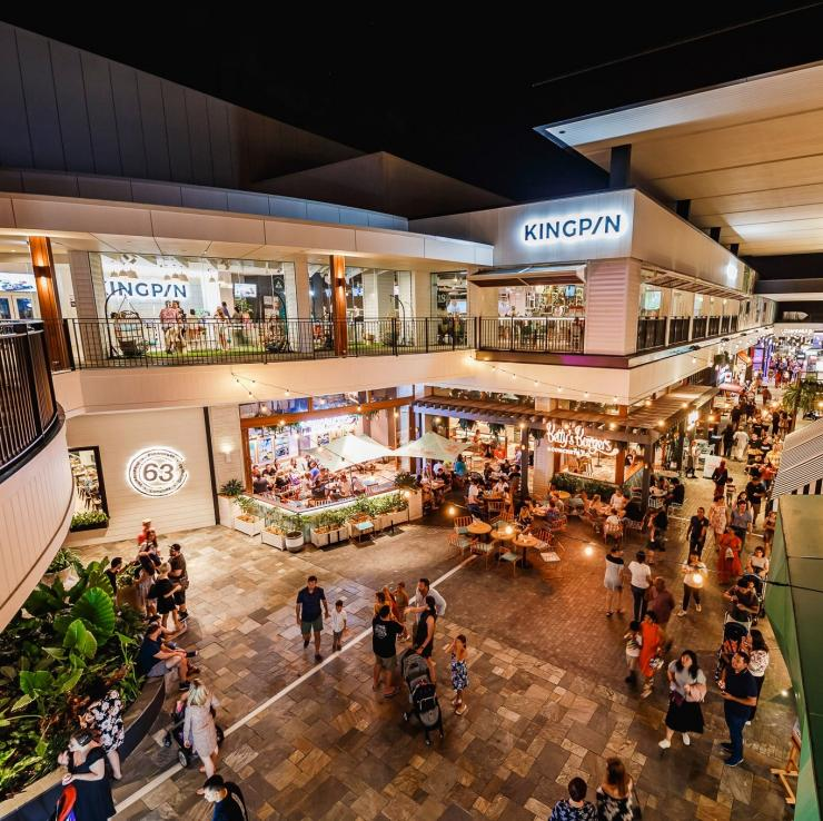 Aerial view of Westfield Chermside mall in Chermside © Westfield Chermside
