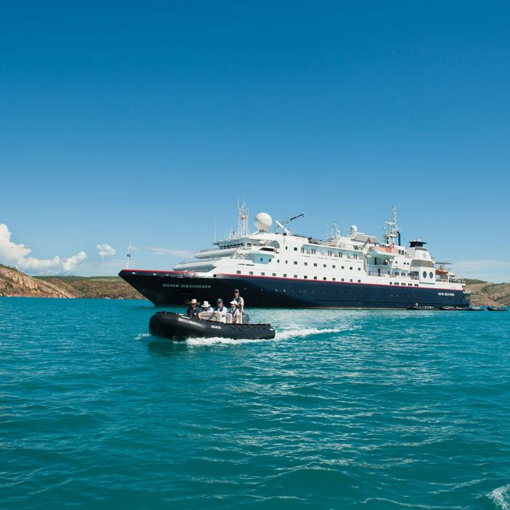 Silversea Cruises, the Kimberley, NT © NT Photo Silversea Cruises