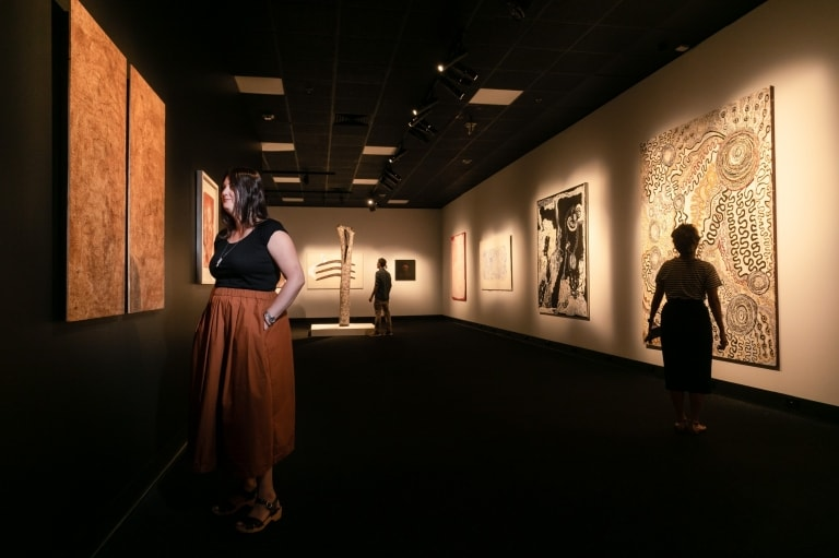 Museum and Art Gallery of the Northern Territory in Darwin © Courtesy of MAGNT/Charlie Bliss