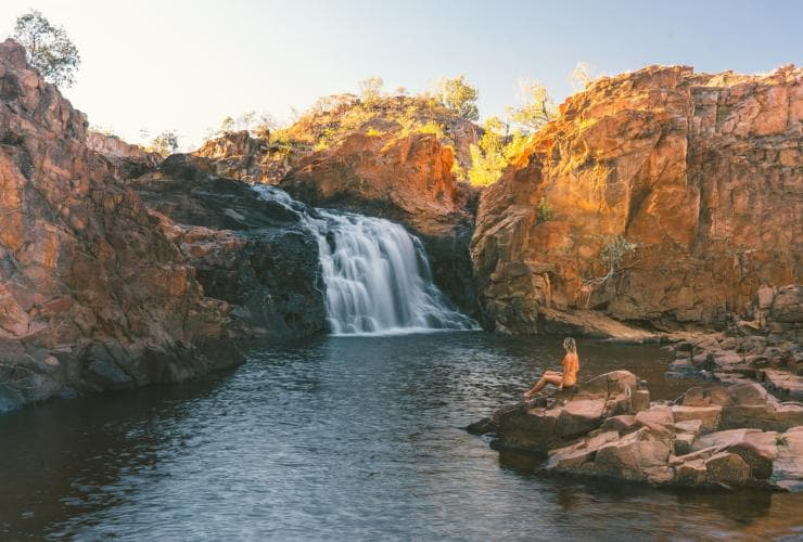 Leliyn (Edith Falls), Nitmiluk National Park, NT © Tourism NT, Mitch Cox
