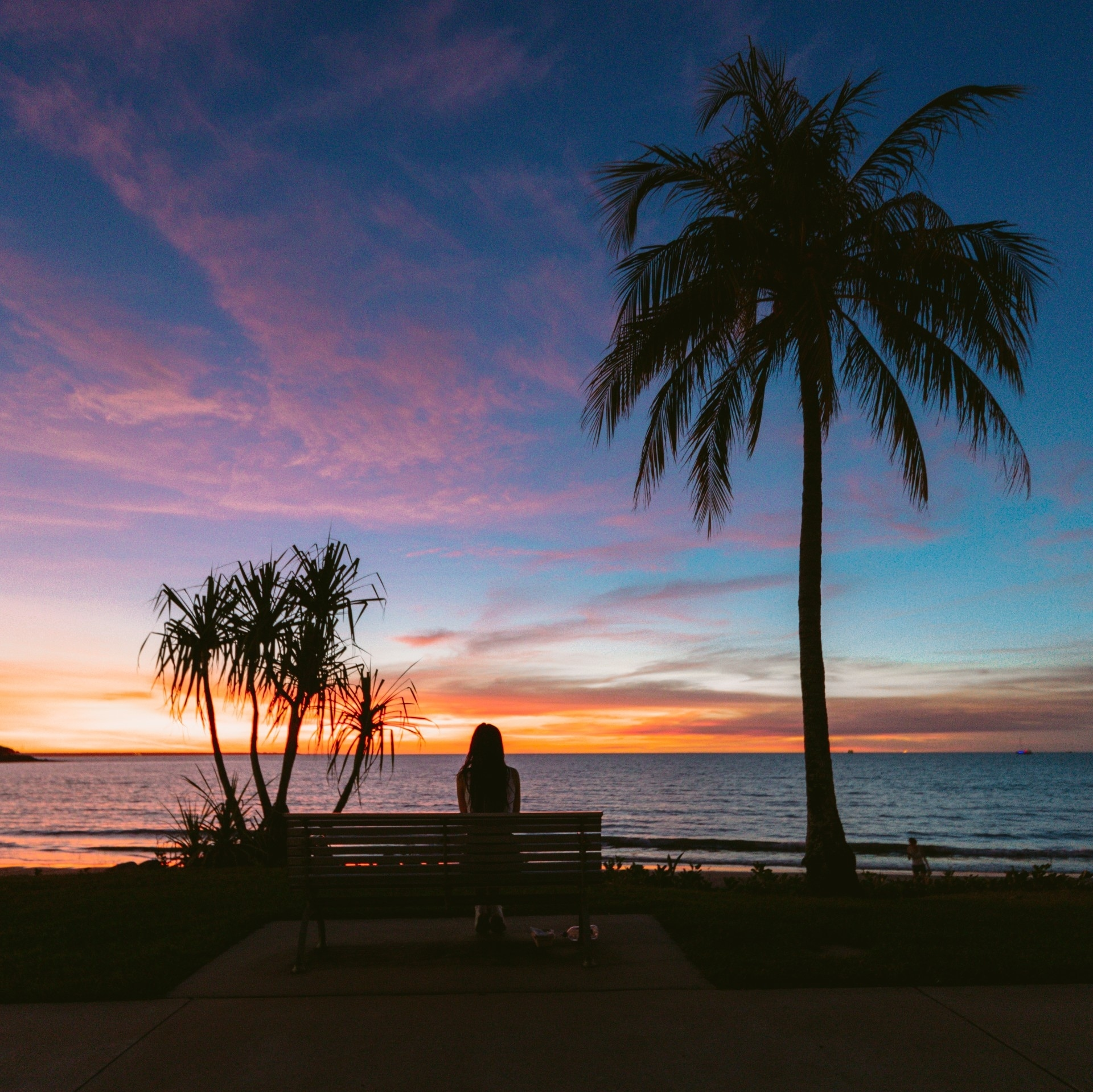 Beach sunset in Darwin © Tourism Australia/Qantas