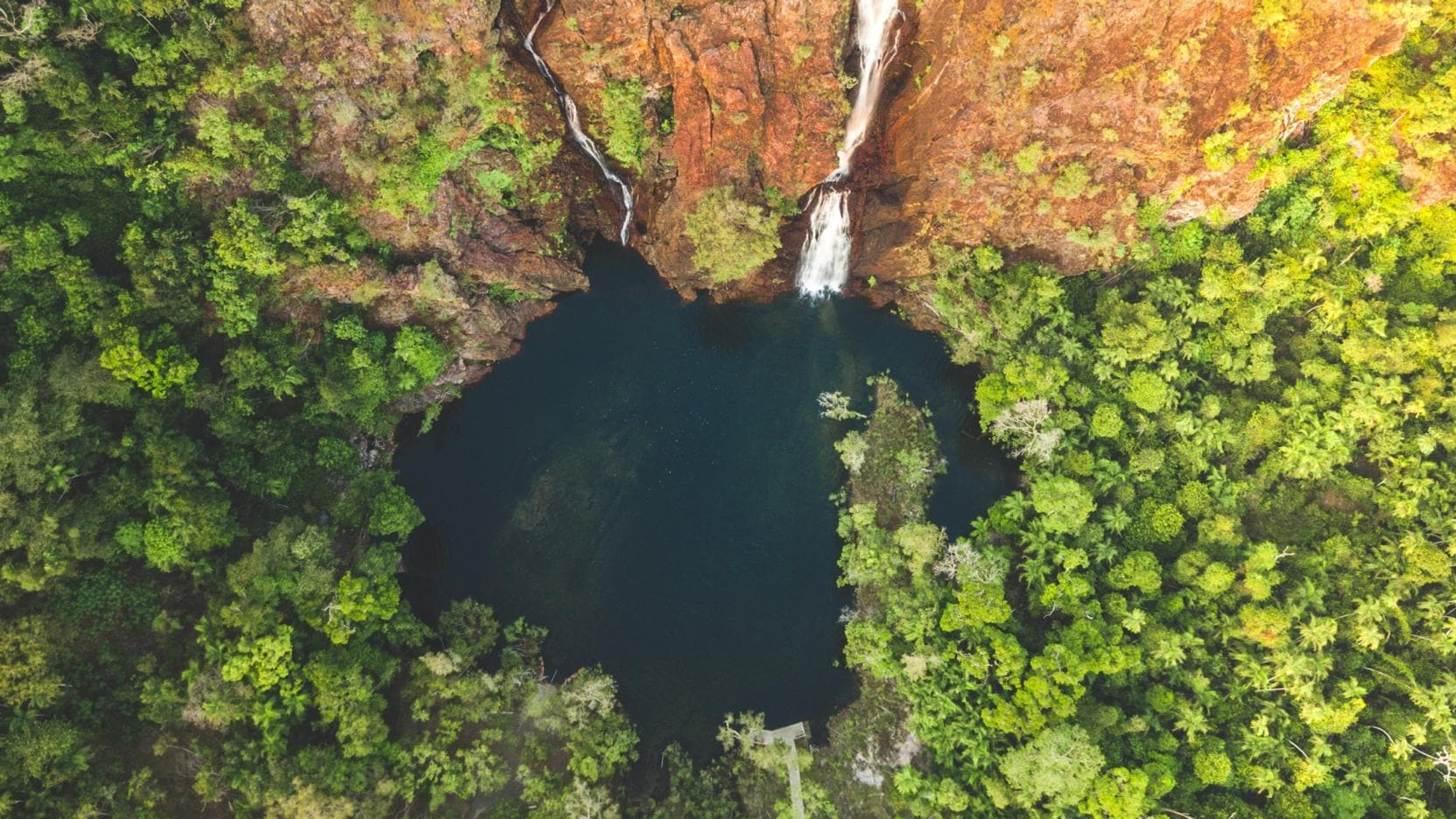 Florence Falls, Litchfield National Park, NT. © Tourism NT