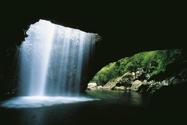 Natural Bridge, Springbrook National Park, QLD © Tourism and Events Queensland