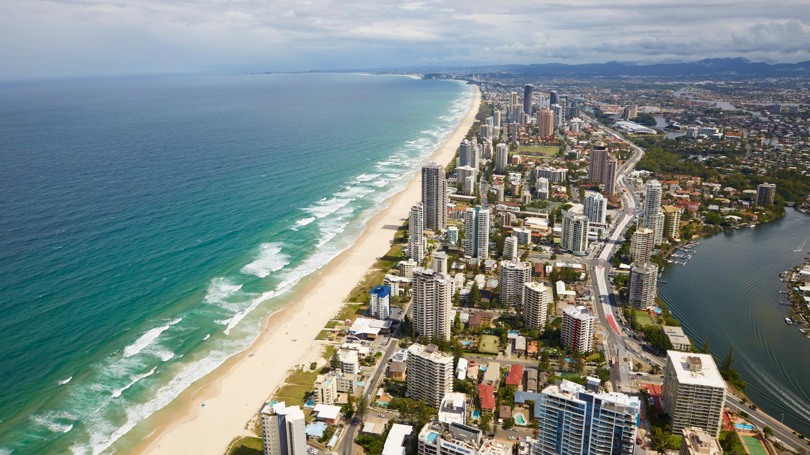 Surfers Paradise, Gold Coast, QLD. © Tourism and Events Queensland