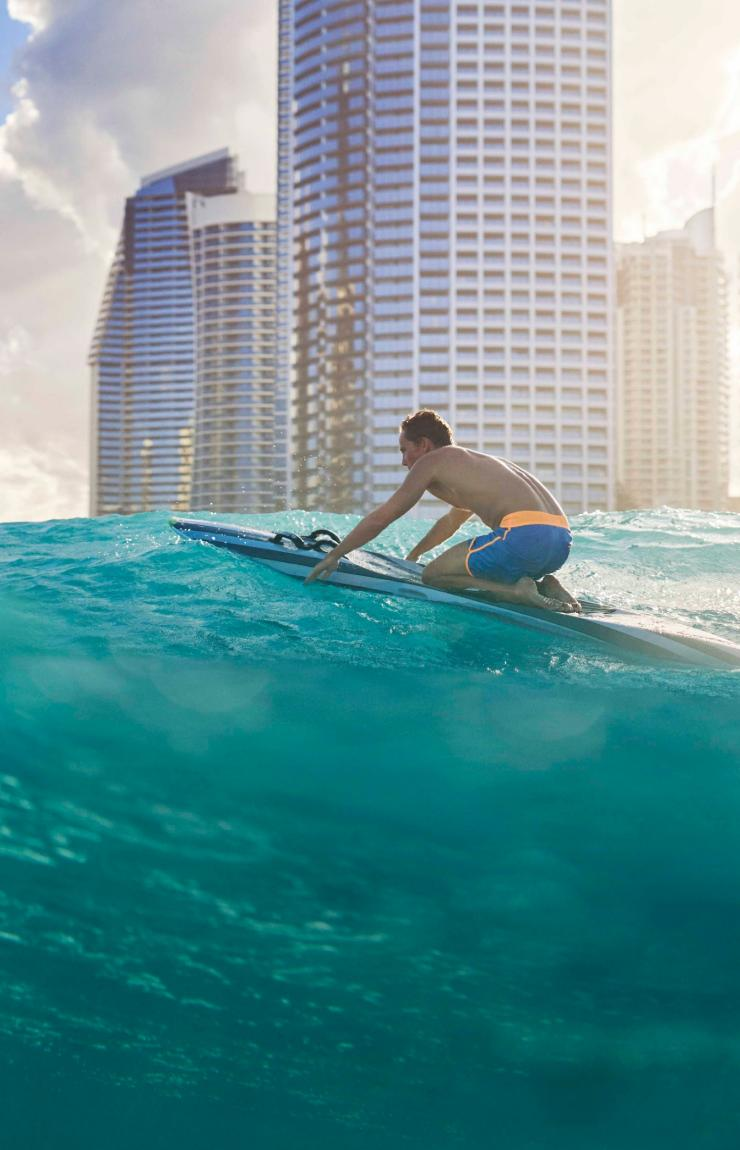 Miami-North Burleigh lookout on the Gold Coast © Tourism and Events Queensland