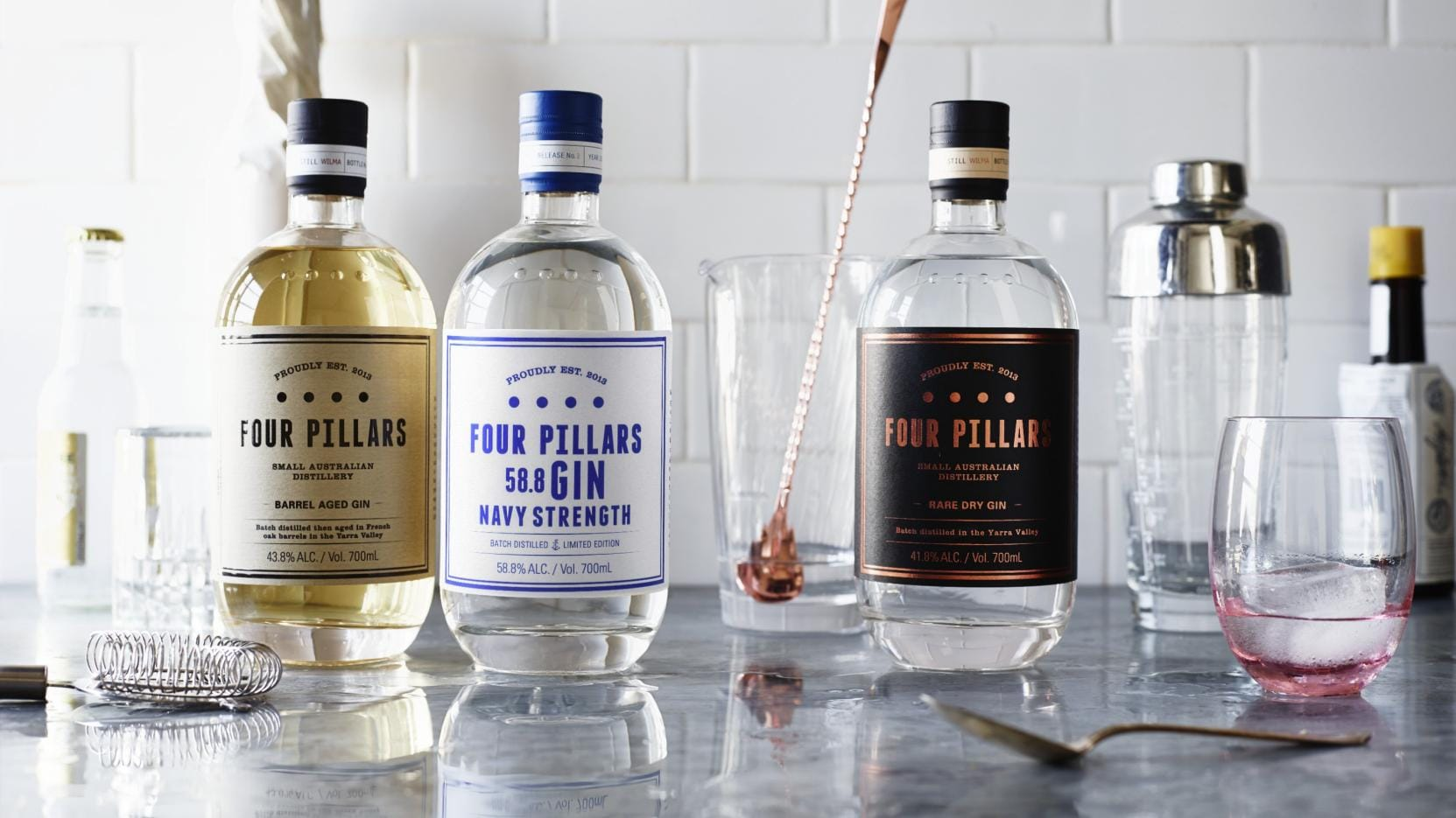 Four Pillars Gin, Healesville, VIC © Anson Smart, Four Pillars Gin
