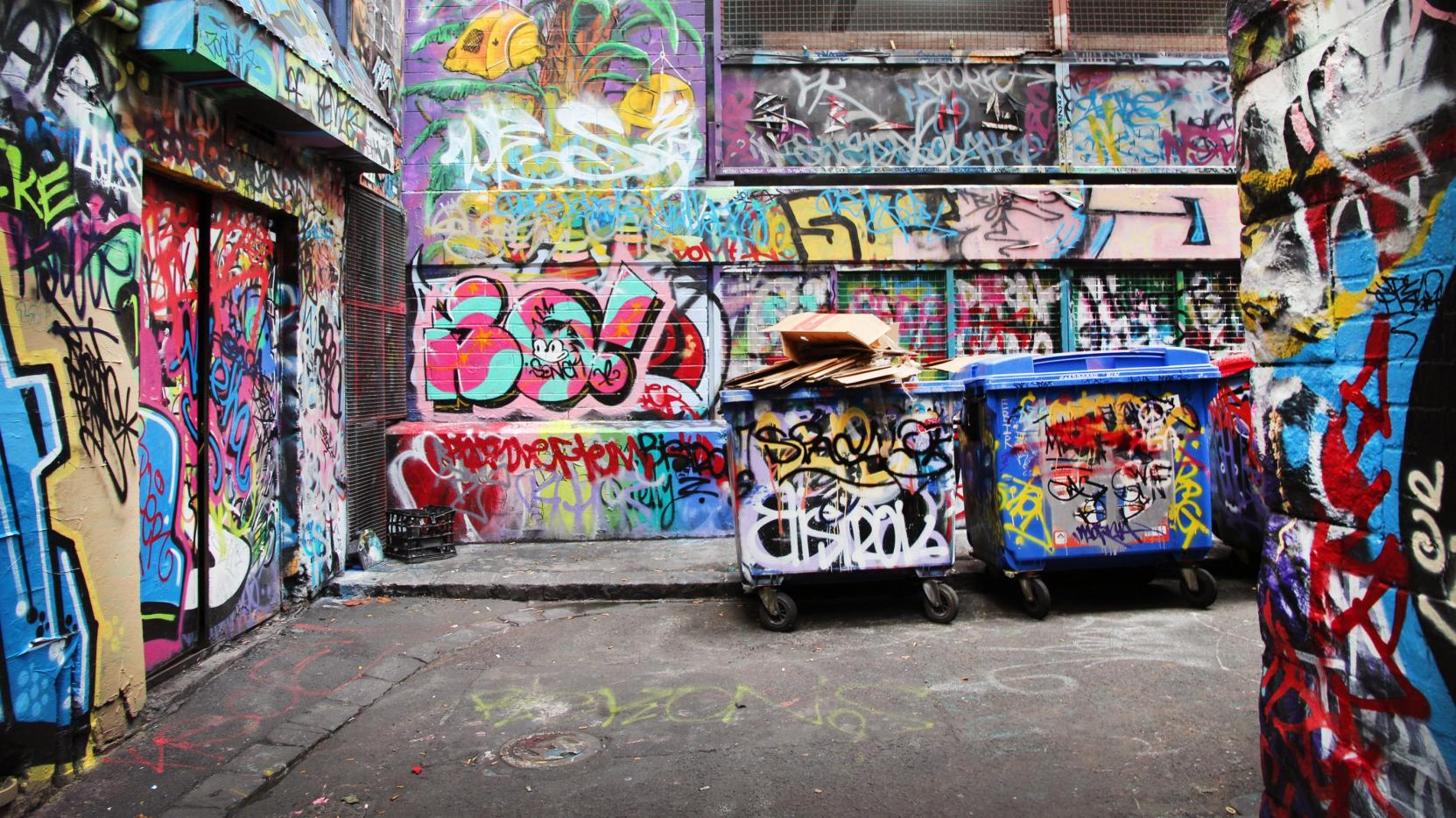 Rutledge Lane, Melbourne, VIC © Ashlea Wheeler