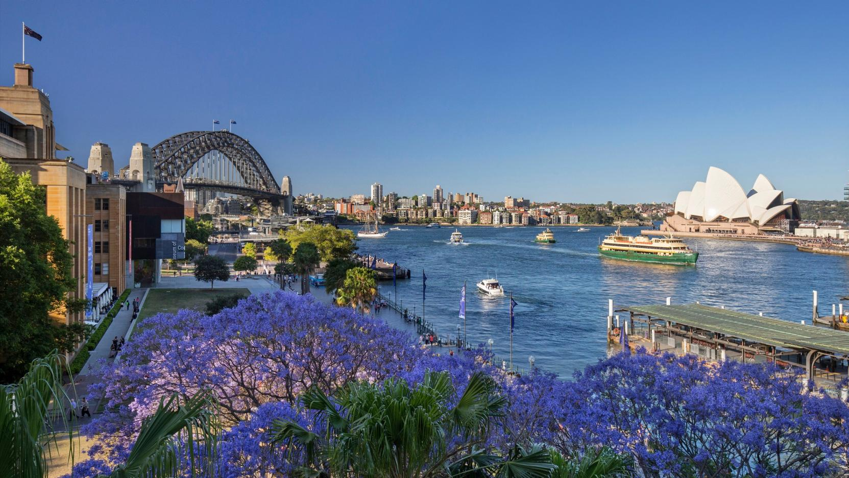 Circular Quay, Sydney, NSW. © Destination NSW