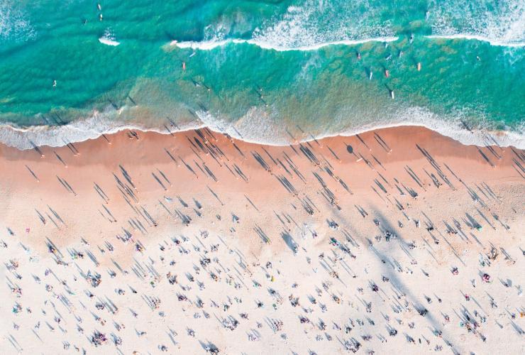 Aerial of Bondi Beach in Sydney © Adam Krowitz