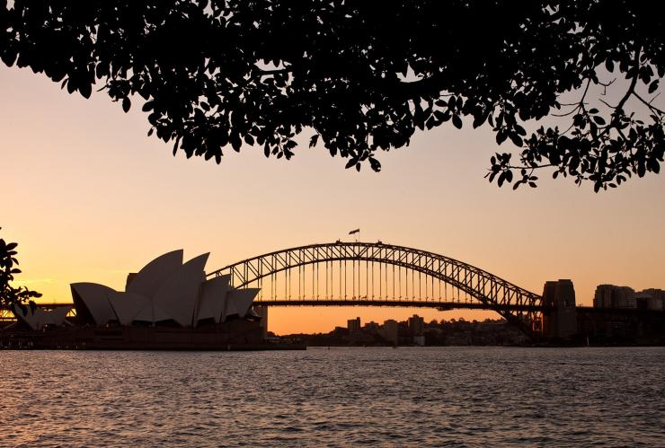 Mrs Macquarie's Chair, Sydney, NSW © BridgeClimb
