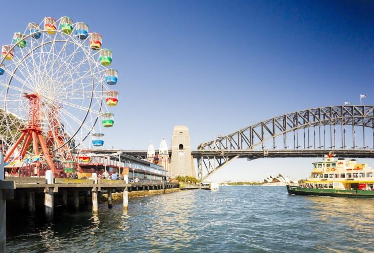 Luna Park, Milsons Point, Sydney, NSW © Destination NSW