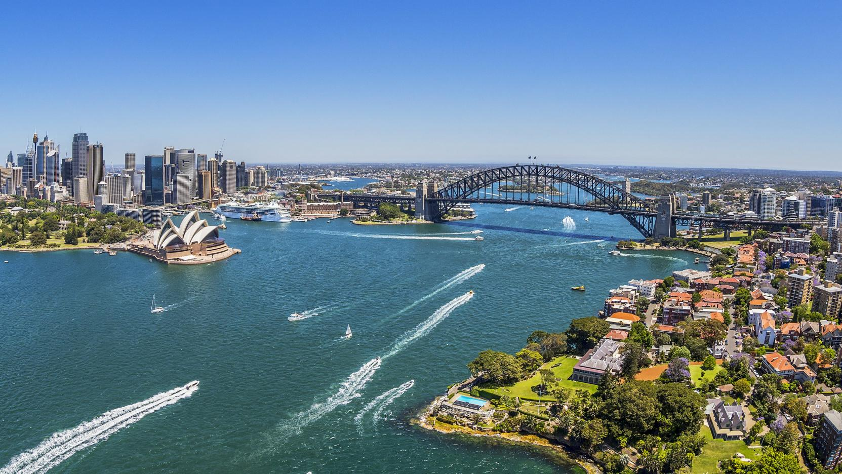 Sydney Harbour, Sydney, NSW. © Destination New South Wales