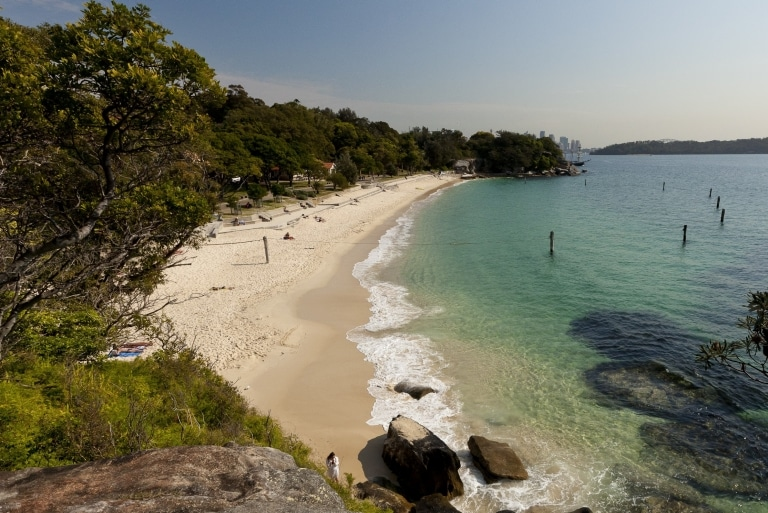 Shark Beach, Nielsen Park, Sydney, New South Wales © Andrew Gregory / Destination NSW