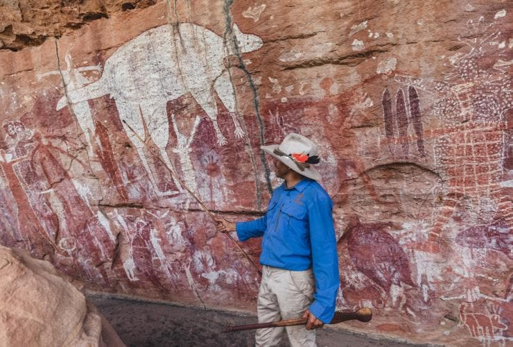 Jarramali Rock Art Tours, Laura, QLD © Tourism Tropical North Queensland