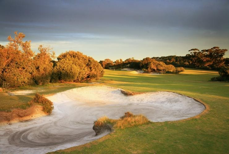 The Royal Melbourne Golf Course, Melbourne, VIC © The Royal Melbourne Golf Course