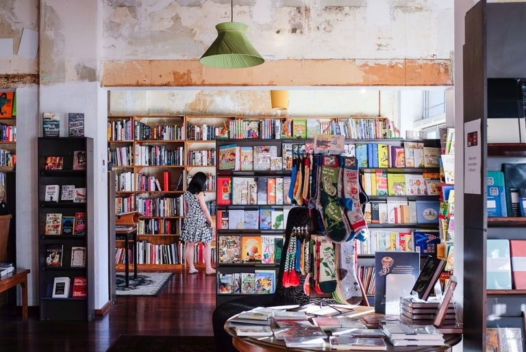 Sappho Books and Café, Glebe, Sydney, NSW © Destination NSW