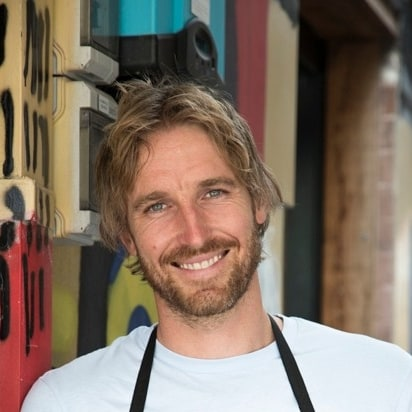 Chef Darren Robertson of Three Blue Ducks, Byron Bay, NSW © Three Blue Ducks