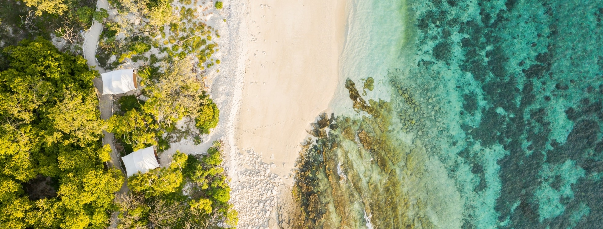 Aerial of Wilson Island © Tourism and Events Queensland