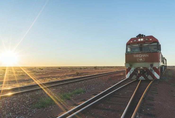 The Ghan, Darwin, Northern Territory © Great Southern Rail