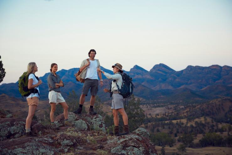 The Arkaba Walk, Flinders Ranges, SA © South Australian Tourism Commission
