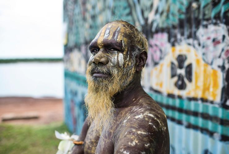 Tiwi Islands local, Tiwi Islands, Darwin region, NT. © Tourism Northern Territory