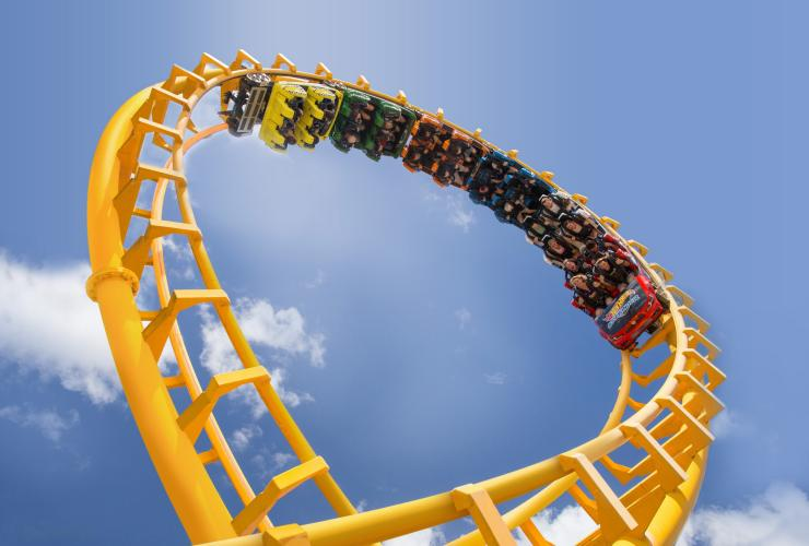 Dreamworld, Gold Coast, QLD © Tourism and  Events Queensland