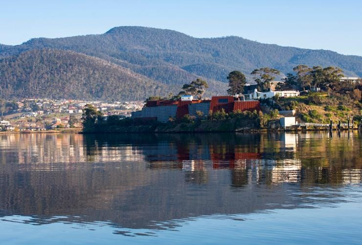 Museum of Old and New Art (MONA), Hobart, TAS © Tourism Tasmania & Rob Burnett