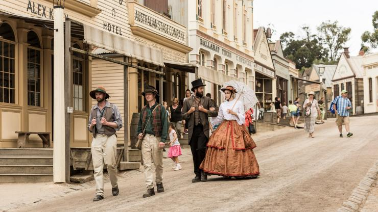 Sovereign Hill, Ballarat, VIC © Visit Victoria
