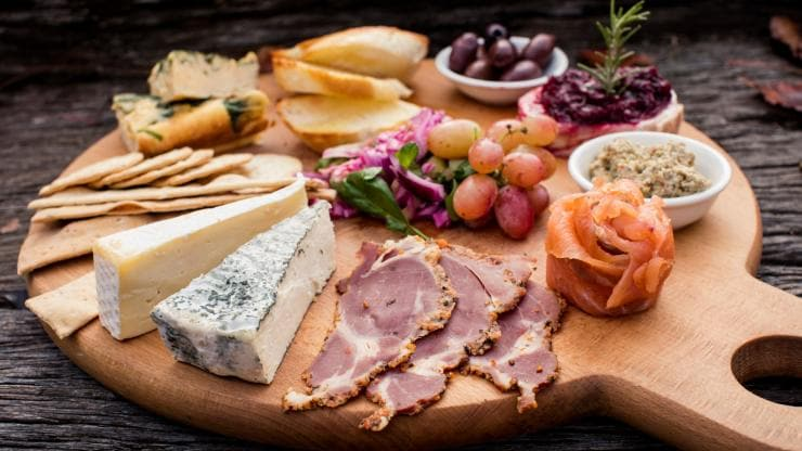 Cheese and charcuterie, Mudgee, NSW © James Horan, Destination NSW