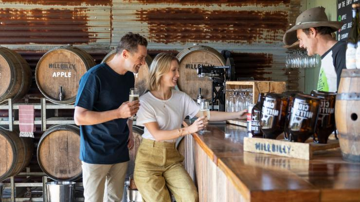 Hillbilly Cider, Bilpin, NSW © Destination NSW