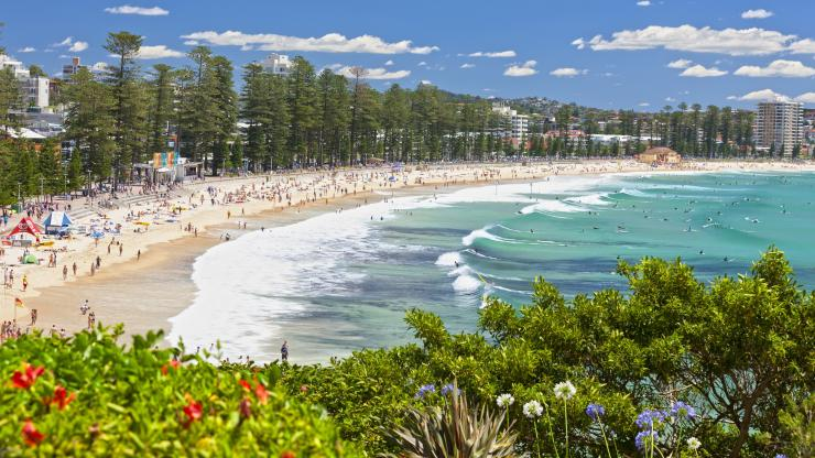 Manly Beach, Sydney, NSW © Keith McInnes, Destination NSW