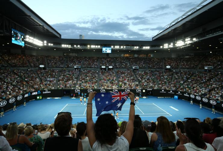 The Australian Open, Melbourne, VIC © 2018 Getty Images