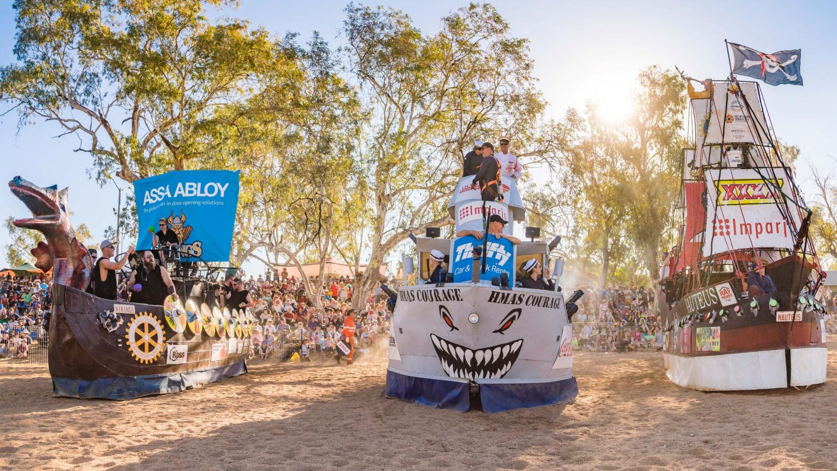 ASSA ABLOY Henley-on-Todd Regatta, Alice Springs, NT