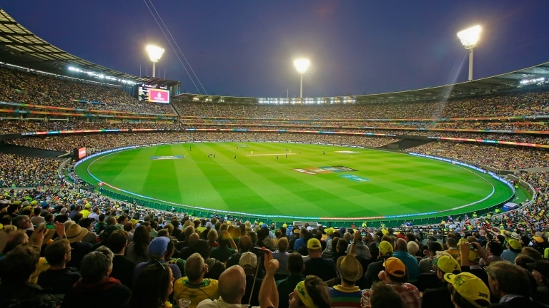 MCG Final, Melbourne, VIC © T20 World Cup
