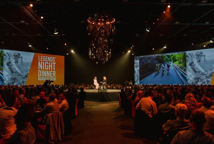 Legends' Night Dinner, Santos Tour Down Under, Adelaide, SA © South Australian Tourism Commission, Meaghan Coles