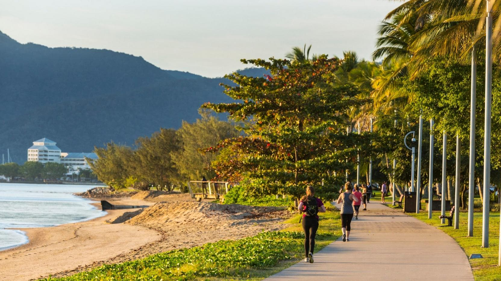 Esplanade, Cairns, QLD © Andrew Watson, Tourism & Events Queensland