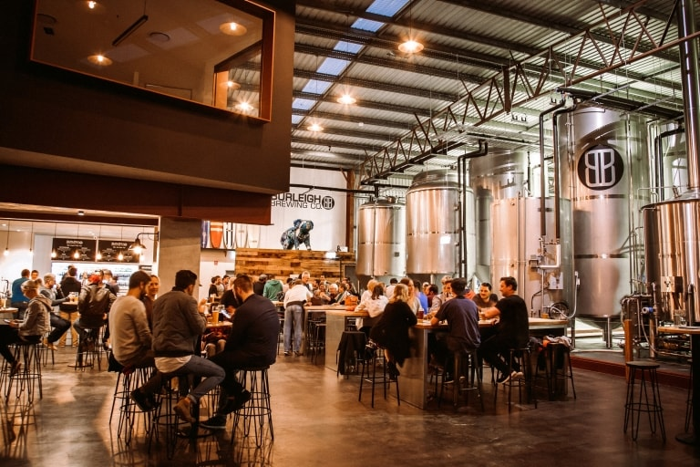 Burleigh Brewing Company in Burleigh Heads, Gold Coast, QLD © Burleigh Brewing Co