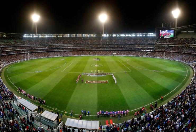 AFL Grand Final, Melbourne Cricket Ground, Melbourne, VIC © AFL Media, Australian Football League, Visit Victoria