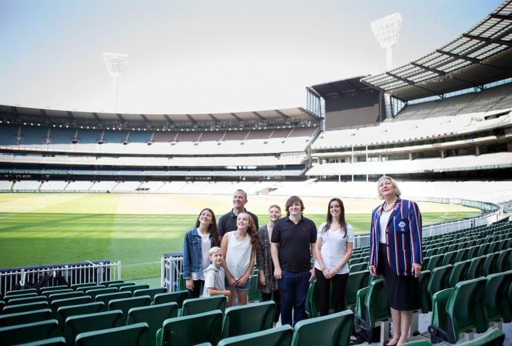 Tour of the Melbourne Cricket Ground, Melbourne, VIC © National Sports Museum